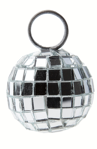 Placeringshållare Discoboll Silver