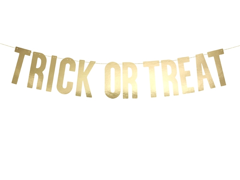 Girlang Trick Or Treat Guld