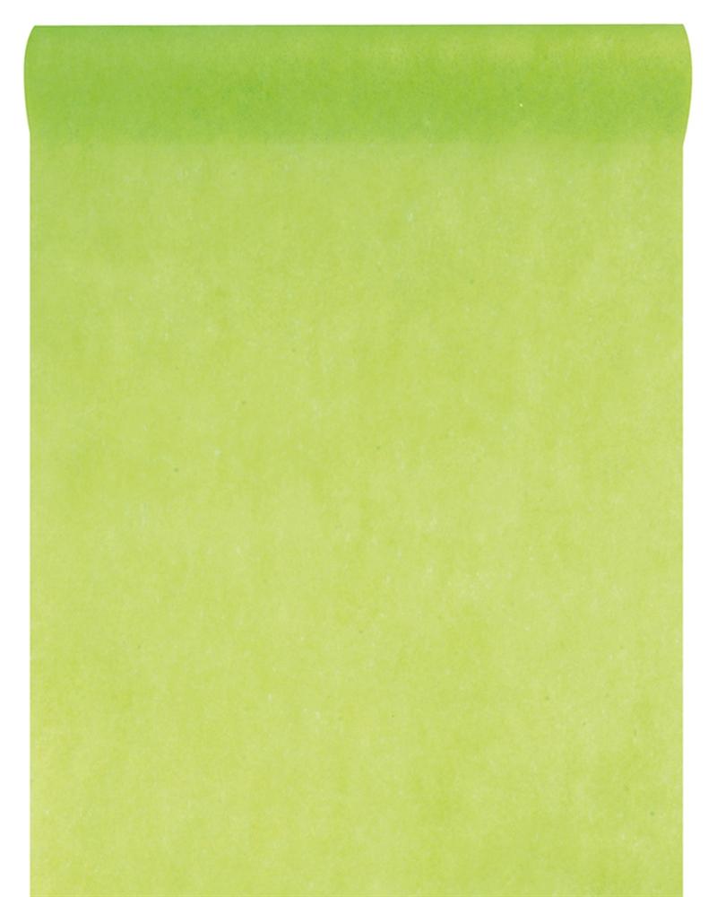 Attraktiva Engångs löpare i papper på rulle grön TZ-12