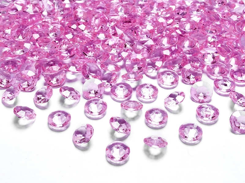 Diamanter 12 mm Rosa