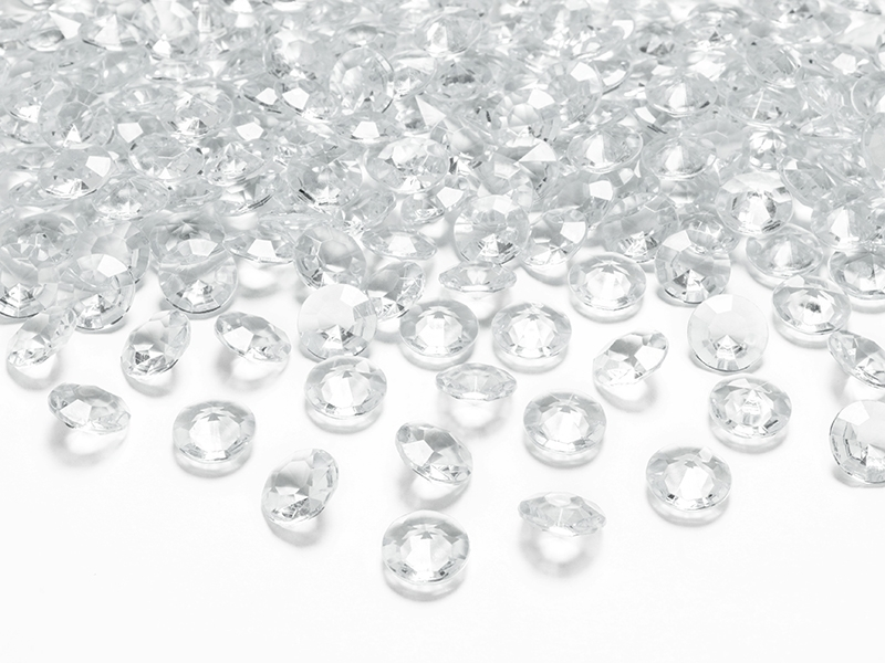 Diamanter 12 mm Transparent