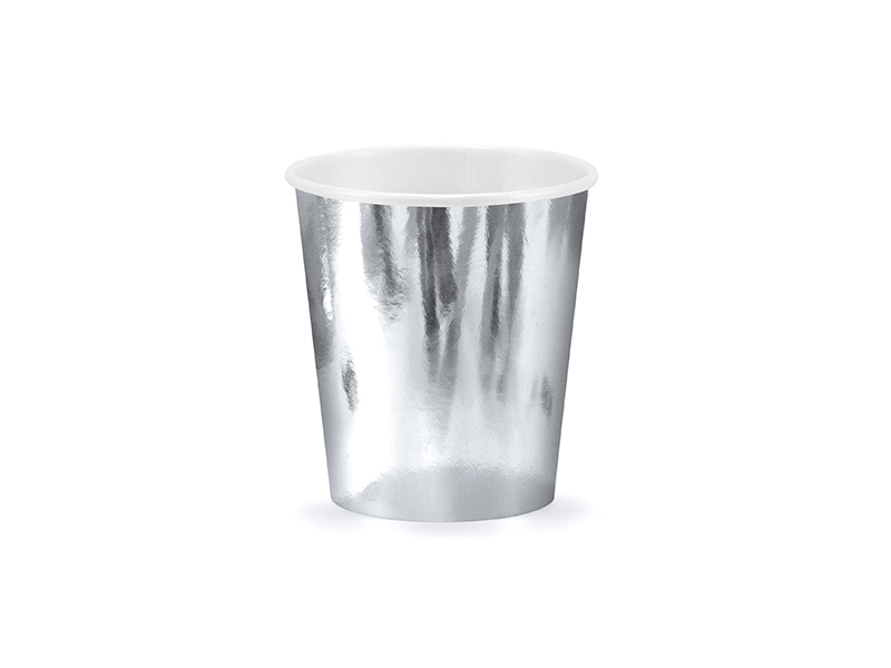 pappersmugg silver