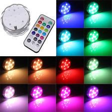 Splitter nya LED-belysning rgb multi lampa med fjärr vattentät NK-73