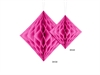 Honeycomb Diamant Cerise