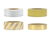 Washi Tape Mix Guld Silver